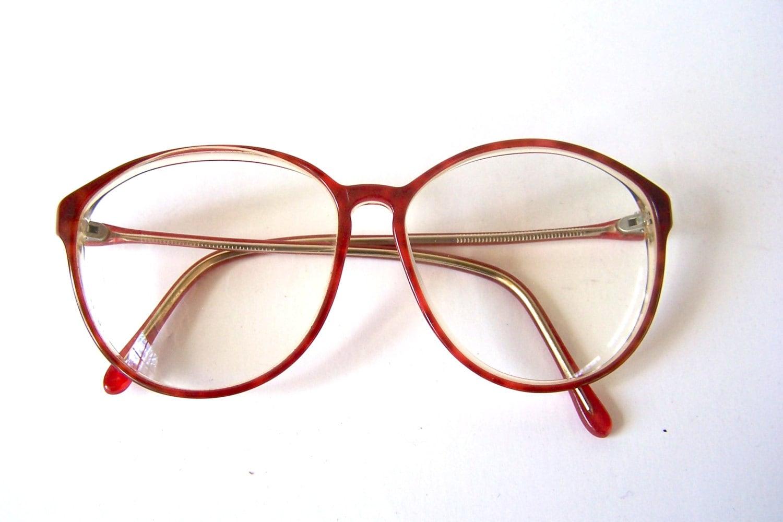 Retro 80s Eyewear Eyeglasses Eyeglass Tortoise Shell