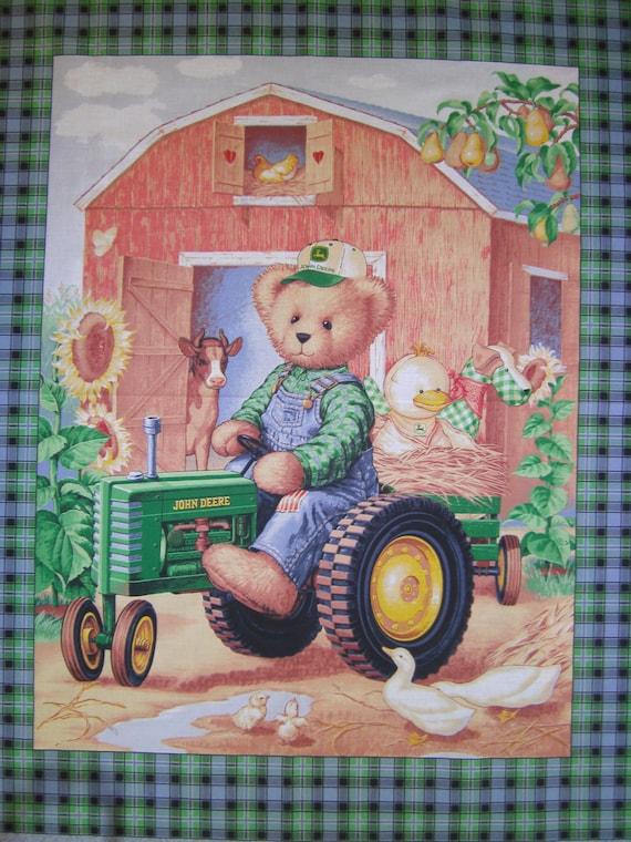 John Deere Teddy Bears : Items similar to john deere teddy bear riding tractor