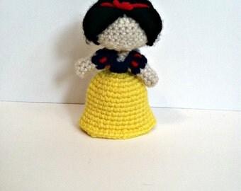 Snow White Amigurumi Doll