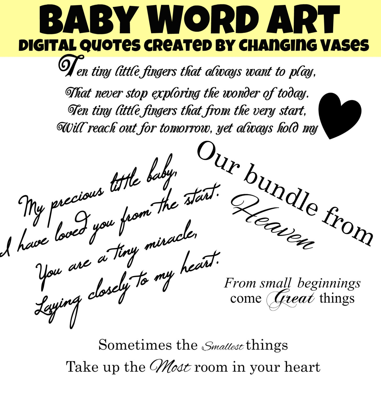 baby quotes for scrapbooking - photo #17