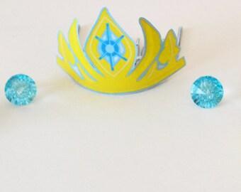 Printable Elsa Inspired Crown
