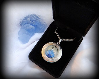 Silver Photo Necklace Locket with Your Picture