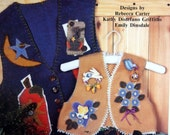 On Pins-N-Needles By Rebecca Carter, Kathy Distefano Griffiths, And Emily Dinsdale Tole Painting And Felt Applique Book 1995