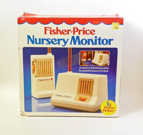 Image result for 1980s fisher price baby monitor