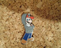 Bassnectar Hat Pin - Mario Pimp Status
