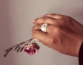 Romantic antler ring, stackable swedish reindeer antler rings, elegant natural bohemian antler jewelry