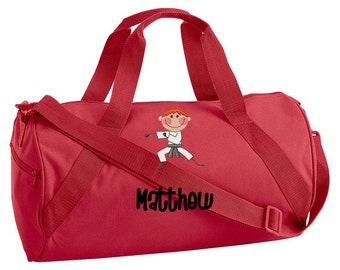 Personalized Kids\\\' Sports Duffel Bags Duffel Bag Childrens Kids
