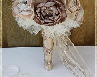 Fantasy Bridal bouquet flowers