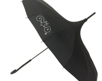 Black Goth Umbrella