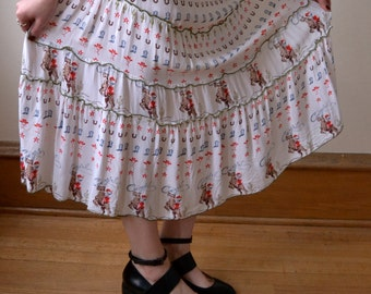 Rodeo Maxi Skirt