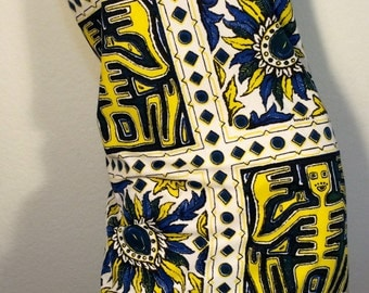 FREE SHIPPING1960's Designer Signed Bernardo Dress