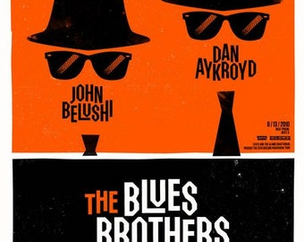 The Blues Brothers  Movie Poster Digital Print Various Sizes