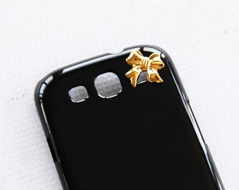 Black Gold Ribbon for iPhone 6s Plus Phone Case for  Ribbon Girly Cassic Chic Elegant Stye Simple Stylish Presents Cell Phone