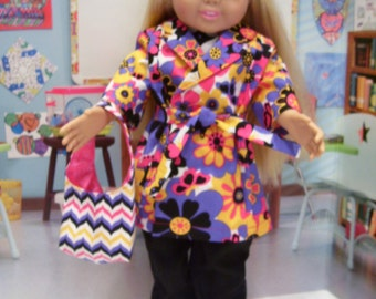 American Girl ShoppingSet, Pant, Coat, Blouse Purse and Shoes