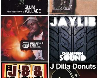 12x18 POSTER: Jay Dee, J Dilla, Dilla Dawg, Pay Jay