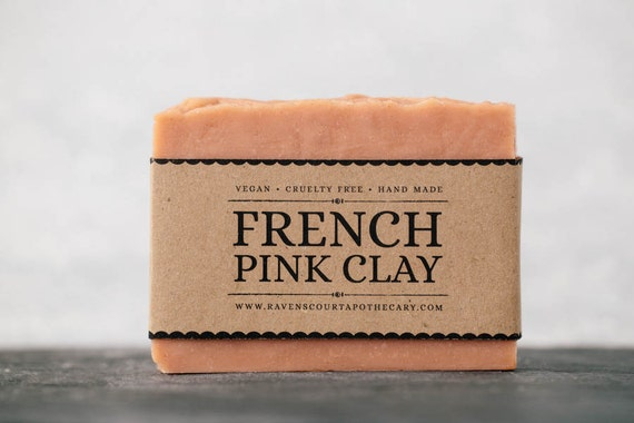 Vegan French Clay Handmade Soap Bar