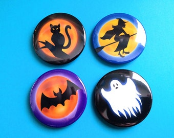 Hallow's End Buttons (World of Warcraft themed pinback buttons)