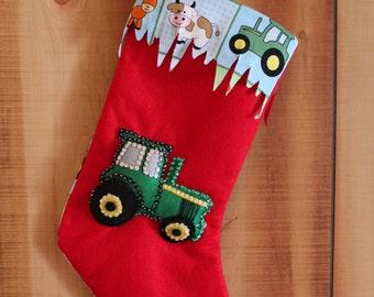 John Deere Christmas Stocking