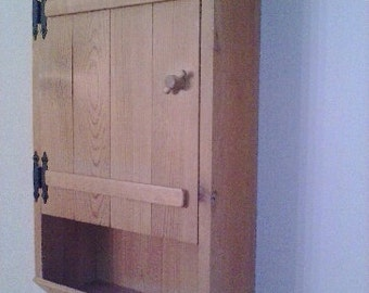 Pine Bathroom Wall Cabinet...If You Need A Custom Size, Contact Me For Pricing