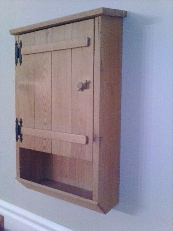 pine bathroom wall cabinet if you need a custom size
