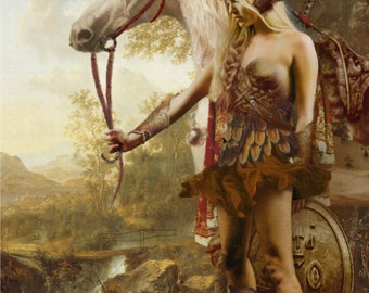 The Valkyrie Fine Art Print