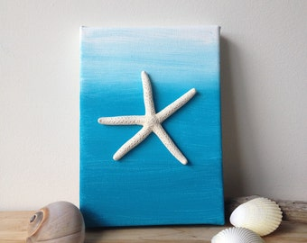 Starfish Ombre Painting