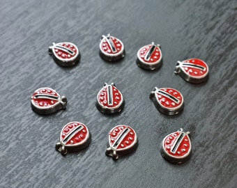 Ladybug Floating Charms for Floating Lockets-Gift Ideas