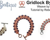 Chainmaille Tutorial- Beaded Gridlock Byzantine Bracelet