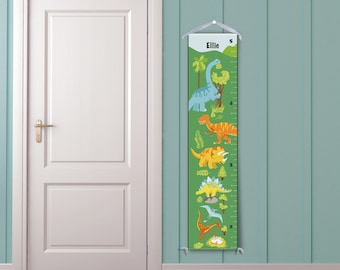 Dinosaur Mountain Personalized Growth Chart