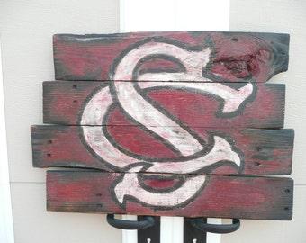 USC Baseball Pallet Sign