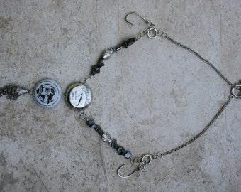 Bottle Cap Nautical Necklace