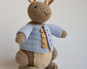 Crochet pattern Timmy the Bunny, rabbit, Hare, amigurumi