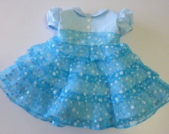 Handmade Vintage Style Party/Easter Dress, girls size 2