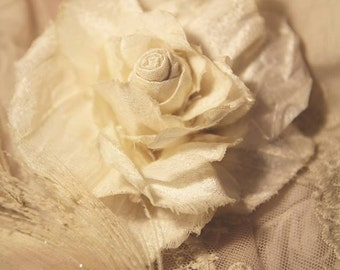 Valley of Roses Ivory Silk Beauty