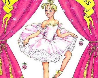 The Ballerina Princess Personalized Book for Kids