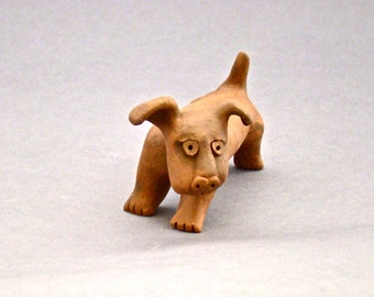 Whimsical Dog Sculpture, Sam