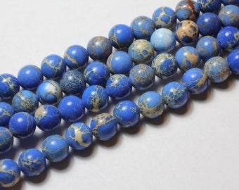 8MM Natural  Regalite Beads