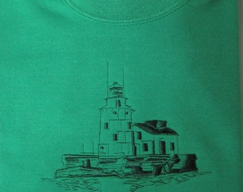 Lighthouse Embroidered sweatshirt