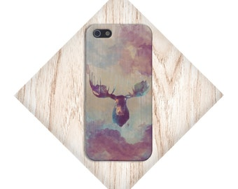 Distressed Tye Dye Moose Case for iPhone 6 6 Plus iPhone 7  Samsung Galaxy s8 edge s6 and Note 5  S8 Plus Phone Case, Google Pixel