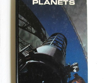 Vintage Life Magazine science library Planets hardback book from the 1960s