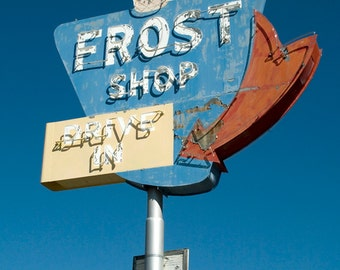 Frost Ice Cream Shop Neon Sign