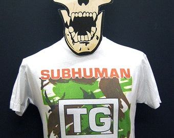 Throbbing Gristle - Subhuman / Something Came Over Me - T-Shirt
