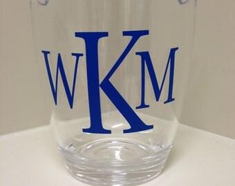 Personalized Acrylic Wine Chiller - Ice Bucket