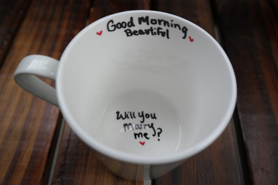 Will You Marry Me Mug Unique Proposal Ideas Marry Me Moving