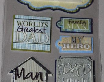 Father/Dad Sticker Lot