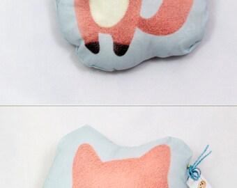 Cutie Baby Fox or Squirrel Pillow