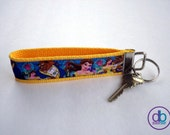 Beauty & the Beast Inspired Keychain