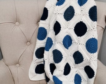 Handmade Crochet Blanket - Throw - Wrap