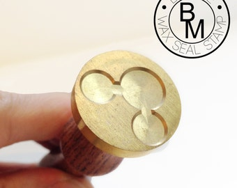 Custom Made Wax Seal Stamp with you own design and logo - 22/25/30 mm