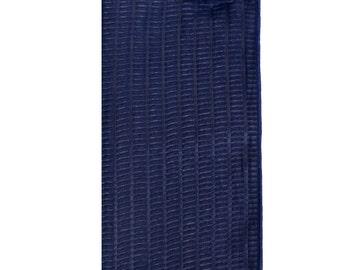 Textured Navy Blue Pocket Square
